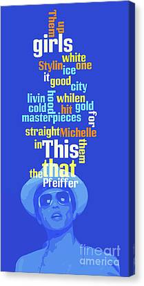 Bruno Mars, Order The Words. Do You Know This Song? Canvas Print