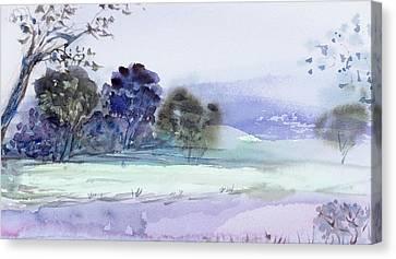 Bruny Island At Dusk Canvas Print