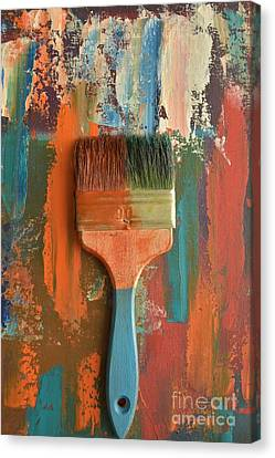Brush Canvas Print by Igor Oleinick