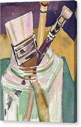 Brushes Canvas Print by Kris Parins