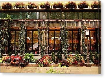 Bryant Park Grill Canvas Print by Jessica Jenney