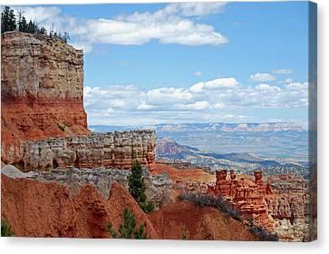 Bryce Canyon Canvas Print by Nancy Landry