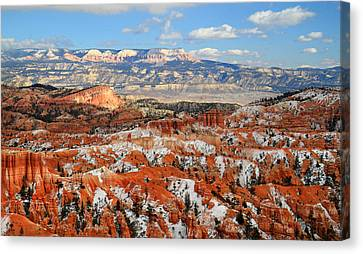 Bryce Canyon Sinking Ship Canvas Print by Pierre Leclerc Photography