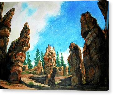 Bryce Canyon Canvas Print by Stephen Boyle