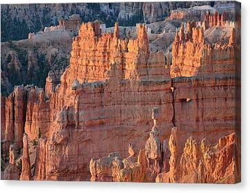 Canvas Print featuring the photograph Bryce Canyon Sunrise 2016a by Bruce Gourley