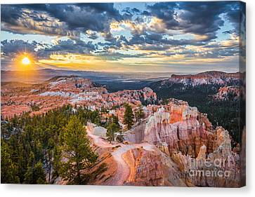Thor Canvas Print - Bryce Canyon Sunrise Point by JR Photography