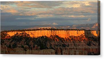 Bryce Canyon Sunset Canvas Print by Laurel Talabere