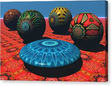 Bryce Kaleidoscope Sampler Canvas Print