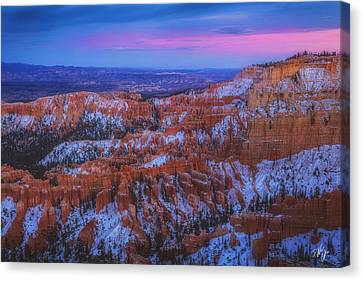 Canvas Print - Bryce Twilight by Peter Coskun