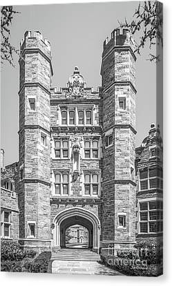 Bryn Mawr College Rockefeller Hall Canvas Print by University Icons