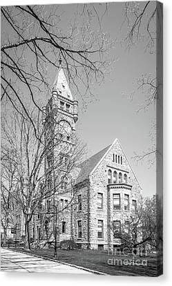 Bryn Mawr College Taylor Hall Canvas Print by University Icons