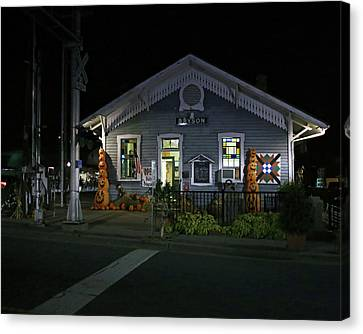 Bryson City Train Station Canvas Print