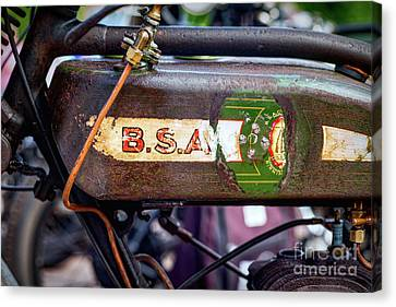 BSA Canvas Print by Tim Gainey