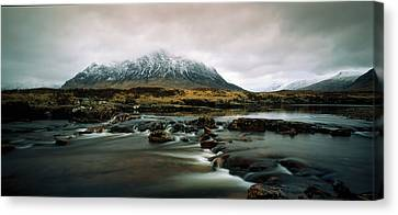 Buachaille Etive Moor Glencoe Highlands Canvas Print by Panoramic Images