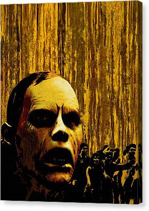 Bubb From Day Of The Dead Canvas Print by Jeff DOttavio