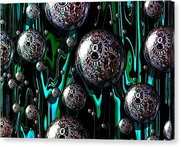 Bubble Abstract 1e Canvas Print