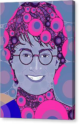 Bubble Art Potter Canvas Print by John Springfield