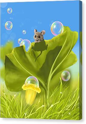 Bubble Games Canvas Print