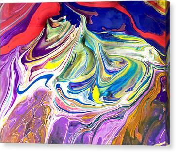Bubble Gum Ice Cream Canvas Print