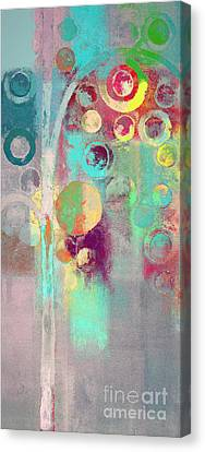 Canvas Print featuring the digital art Bubble Tree - 285r by Variance Collections