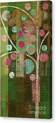 Bubble Tree - 85lc16-j678888 Canvas Print by Variance Collections