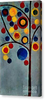 Bubble Tree - Dps02c02f - Left Canvas Print by Variance Collections