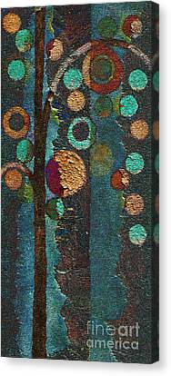 Bubble Tree - Spc02bt05 - Right Canvas Print by Variance Collections