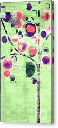 Canvas Print featuring the digital art Bubble Tree - 224c33j5l by Variance Collections