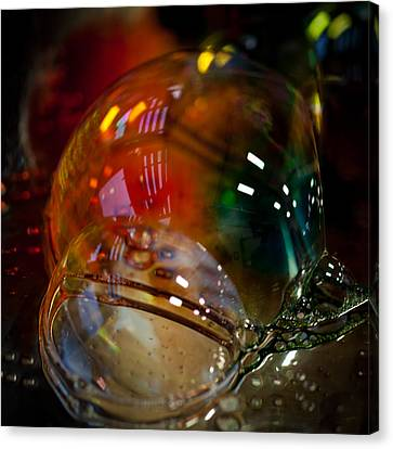 Bubbles Abstract 2 Canvas Print