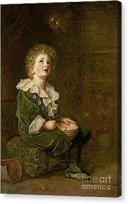 Bubbles Canvas Print by Sir John Everett Millais