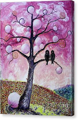 Bubbletree Canvas Print