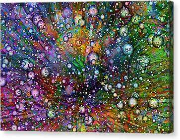 Bubblie Canvas Print by Jack Zulli