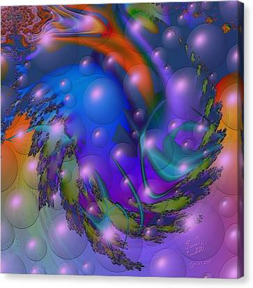 Bubbling Over With Enthusiasim Canvas Print by Kevin Caudill