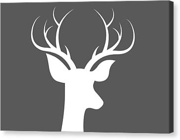 Buck Deer Canvas Print by Chastity Hoff
