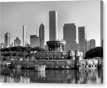 Buckingham Fountain - 2 Canvas Print
