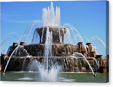 Buckingham Fountain 2 Canvas Print