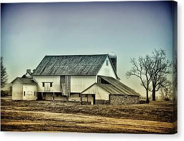 Bucks County Farm Canvas Print by Bill Cannon