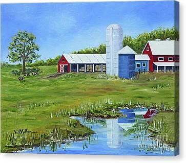 Bucks County Farm Canvas Print