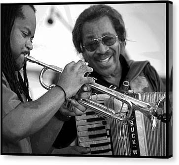 Canvas Print featuring the photograph Buckwheat Zydeco by Jim Mathis