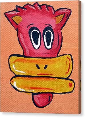 Bucky  Canvas Print by Jera Sky