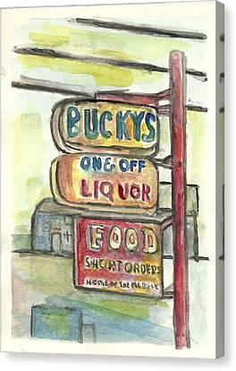 Buckys Canvas Print by Matt Gaudian