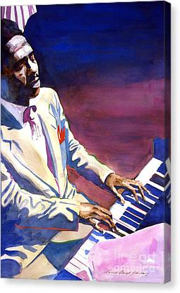 Bud Powell Piano Bebop Jazz Canvas Print