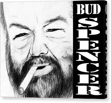 Bud Spencer Canvas Print