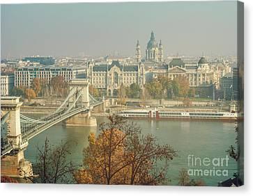 Budapest, Hungary Canvas Print by Jelena Jovanovic