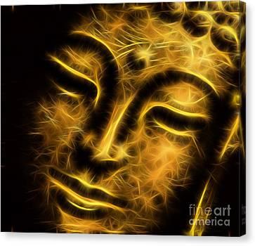 Buddah Collection Canvas Print by Marvin Blaine