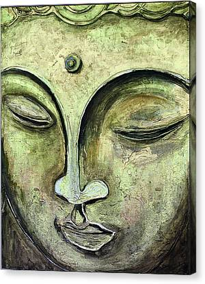 Buddah Gold  Canvas Print by Paco Rocha