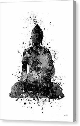 Buddha 2 Watercolor Canvas Print