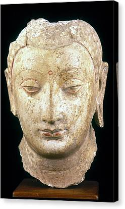 Buddha, 4th-7th Century Canvas Print by Granger