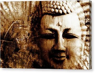 Buddha Abstract Canvas Print by Skip Nall
