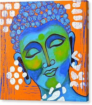 Buddha Art Canvas Print by Poonam Choudhary